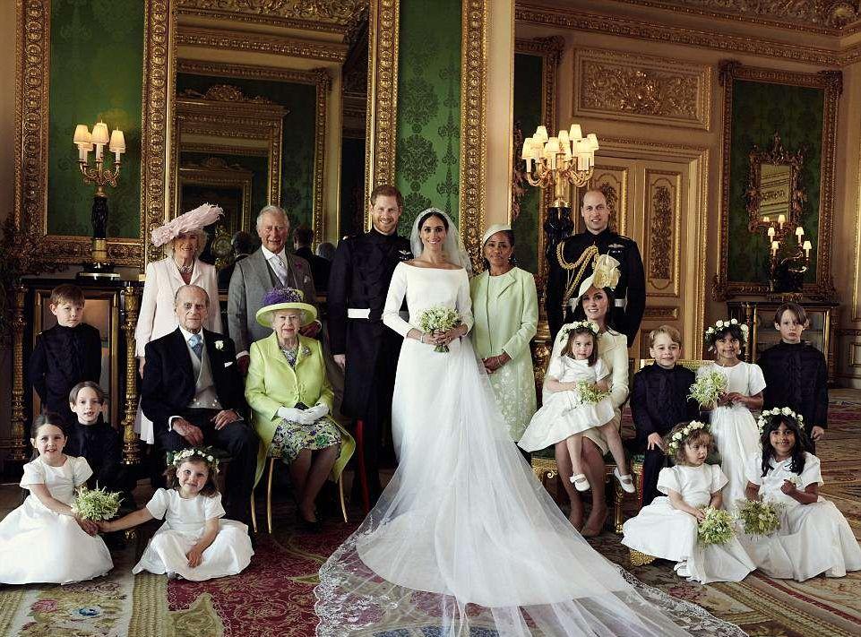 fotografie oficiala nunta Harry Meghan