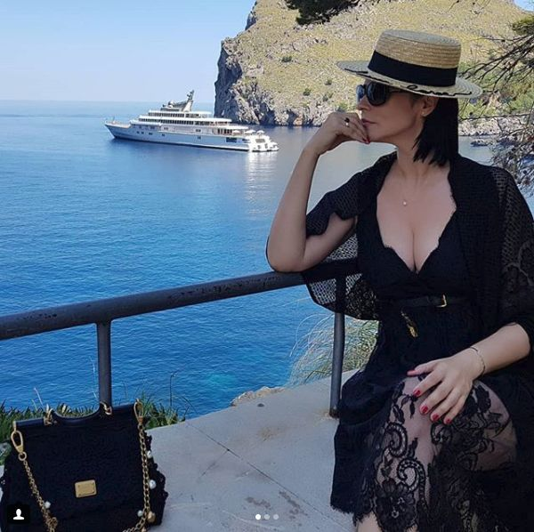 Andreea Marin in Spania