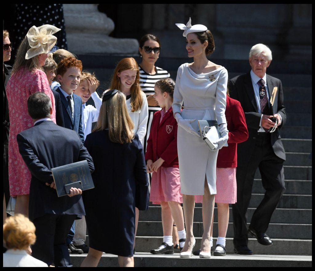 Angelina Jolie la Londra