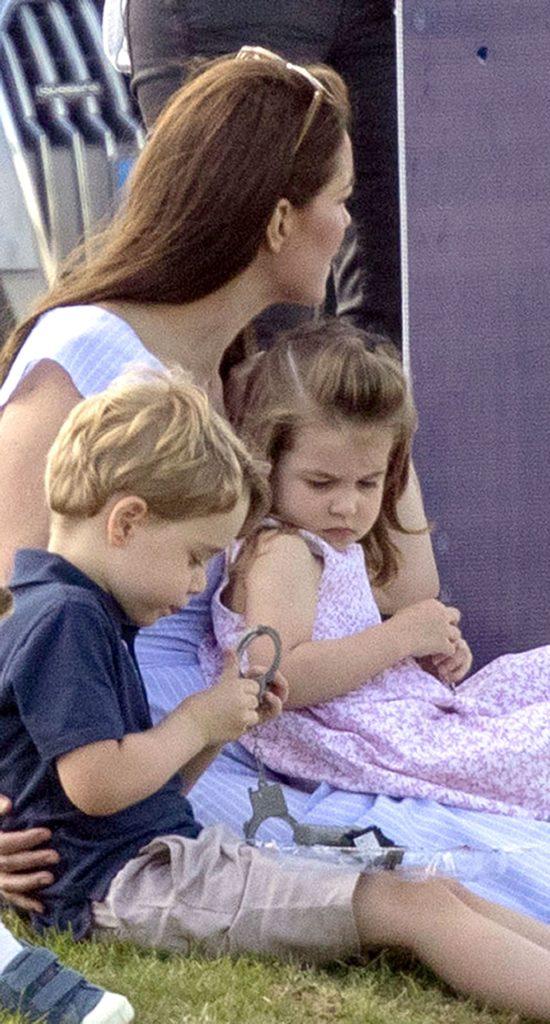 Charlotte, George si Kate