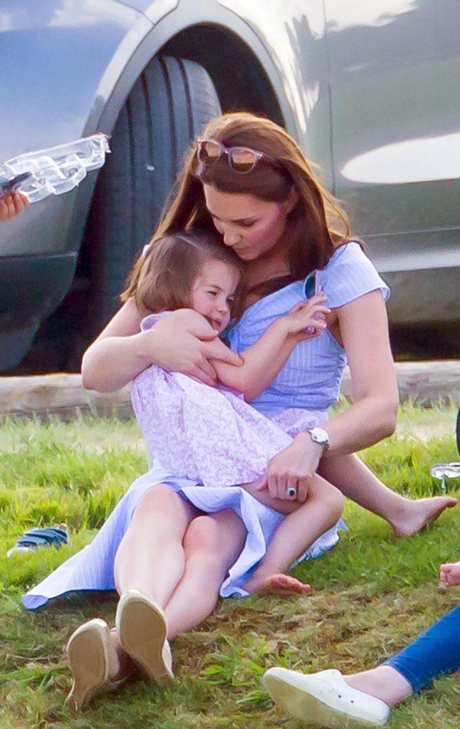 Kate Middleton a slabit dupa nastere