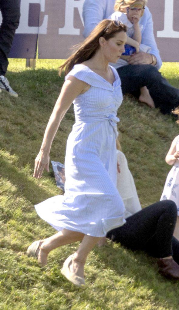Kate a revenit la silueta de dinainte de sarcina