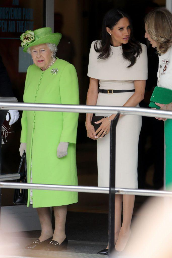 Meghan Markle in turneu cu regina
