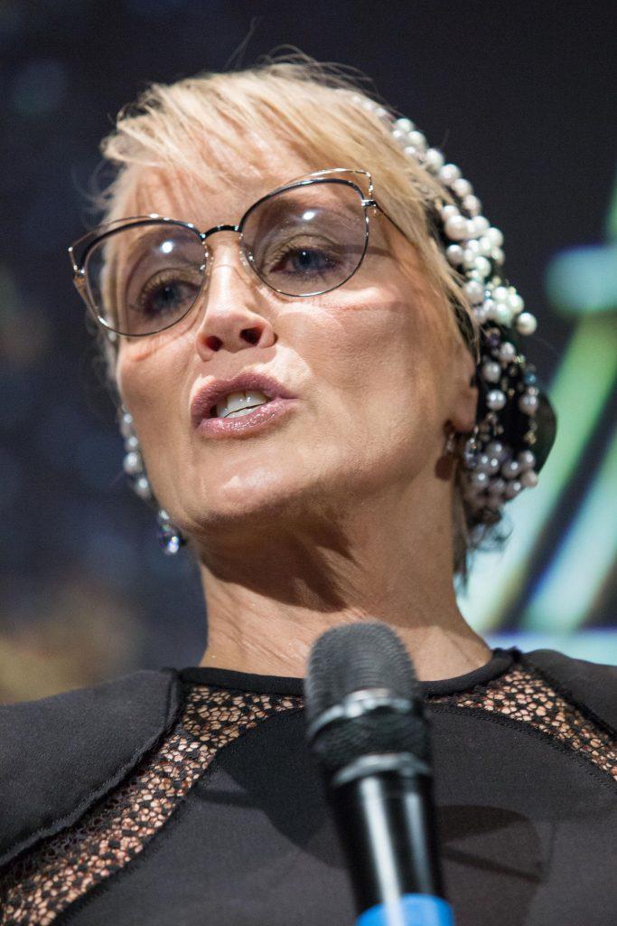 Sharon Stone la 60 de ani