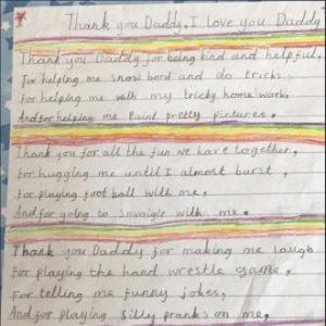 scrisoarea lui Harper pentru David Beckham