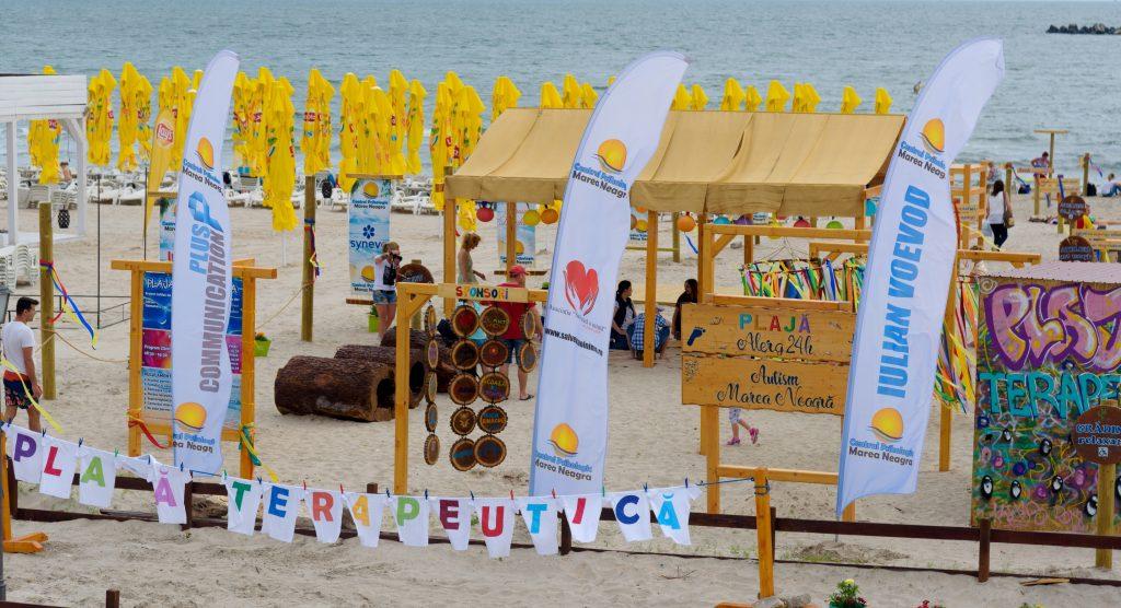 Prima plaja terapeutică din România: