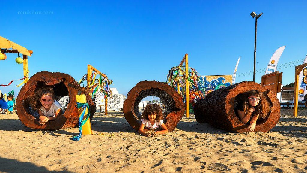 S-a deschis prima plaja terapeutică din România în staţiunea Mamaia - pădurea de bambus