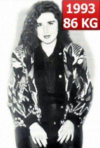 Carmen Bruma la 85 de kilograme