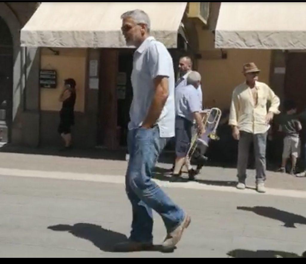 George Clooney, la filmari