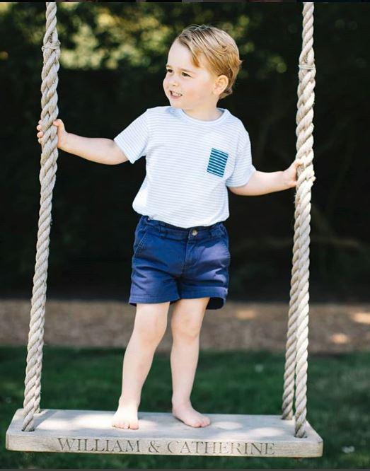 Micul prinț George a furat toată atenția la nunta prietenei mamei sale! Ce a făcut micuțul