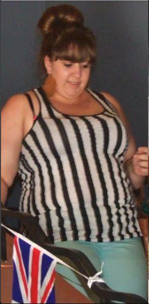 Katie a fost intotdeauna supraponderala, chiar obeza