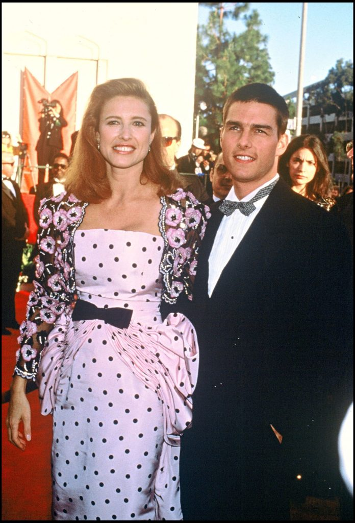 Tom Cruise si Mimi Rogers, in 1989