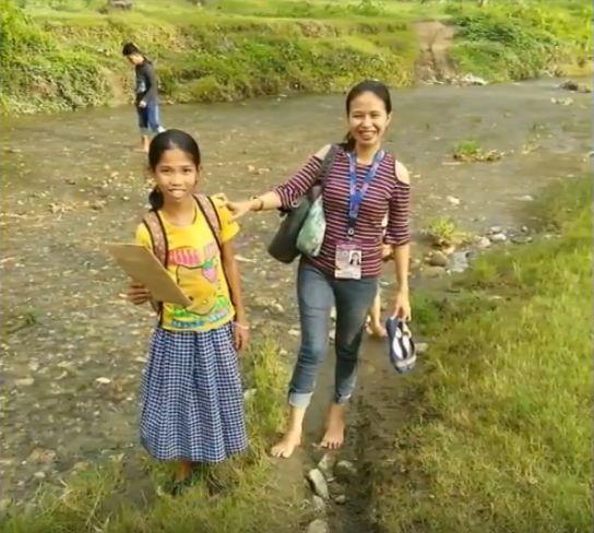 cosmarul unei fetite din Filipine