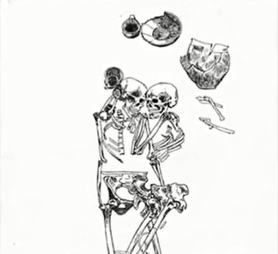 imbratisare de 3000 de ani
