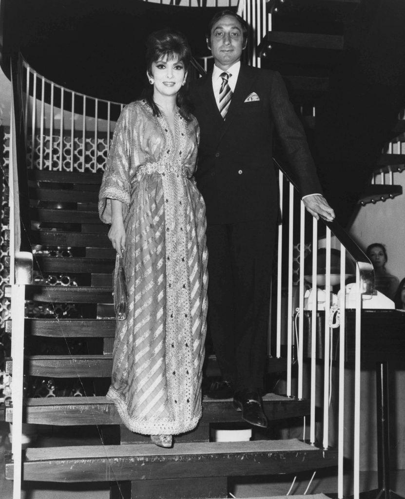 impreuna cu George Kaufman, in 1970