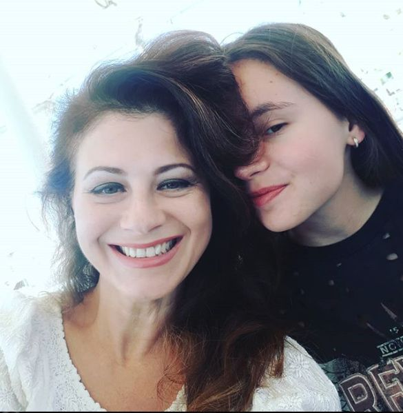 Corina Danila si fata ei