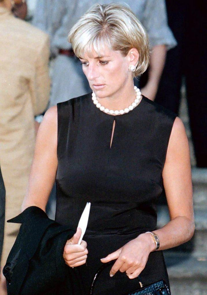 Printesa Diana, in 1997, anul in care avea sa moara