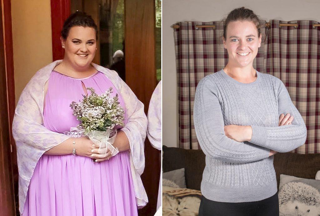"""Dieta cu care această femeie a slăbit 73 de kilograme: """"Eram atât de grasă că mergeam cu ajutorul unui baston"""