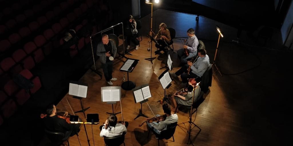 Turneul național 100 x Enescu. Repetiție