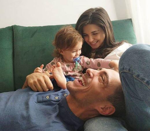 Ce familie superbă are Vladimir Drăghia! Fetița lui, Zora, este adorabilă!
