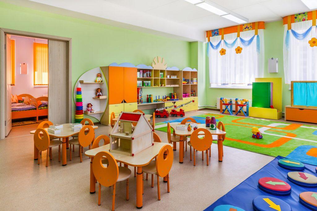 Clasă de grădiniță Montessori