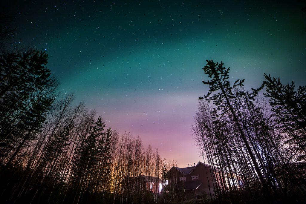 Laponia, țara lui Moș Crăciun. Aurora Boreală