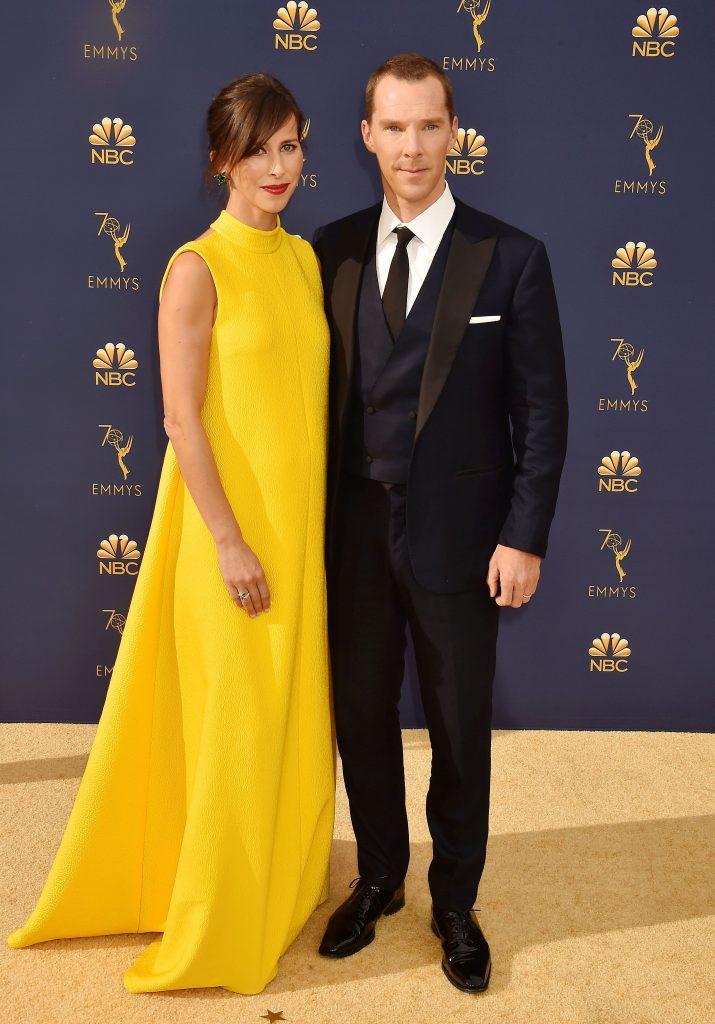 La Premiile Emmy de anul acesta, actorul Benedict Cumberbatch a anunțat că soția sa, Sophie Hunter, de 40 de ani, e însărcinată cu cel de-al treilea copil al lor.