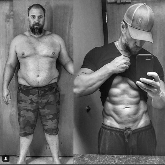 candungan susu l-bărbații pierd în greutate