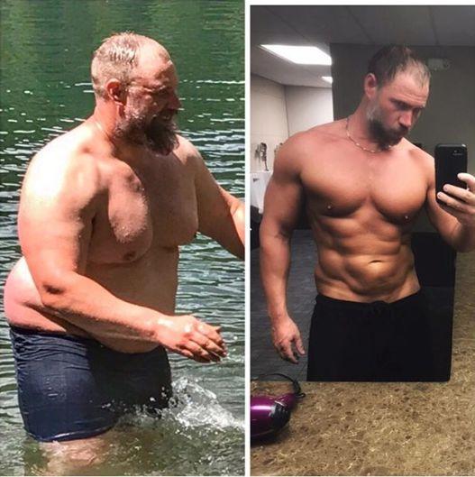 transformarea barbatului de 39 de ani e incredibila