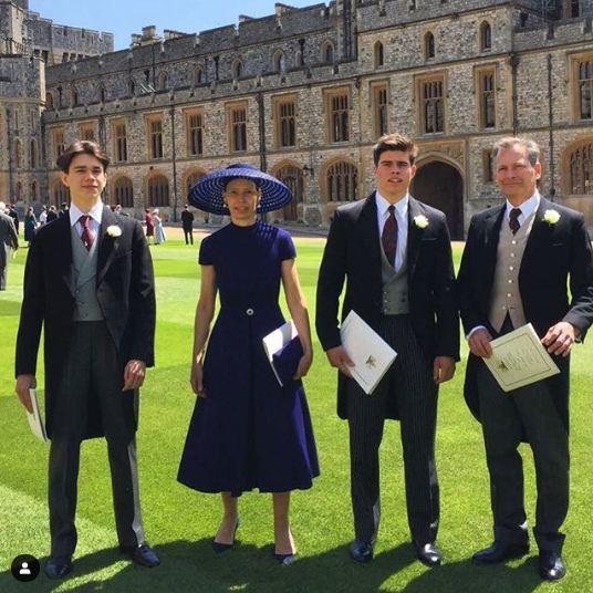 Arthur a participat la nunta printului Harry