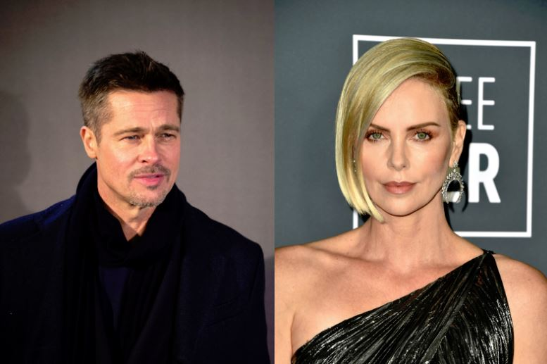 Primele imagini cu Brad Pitt și Charlize Theron! Wow, ce frumoși sunt împreună