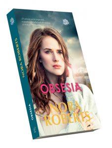 """""""Obsesia"""" de Nora Roberts. Coperta"""