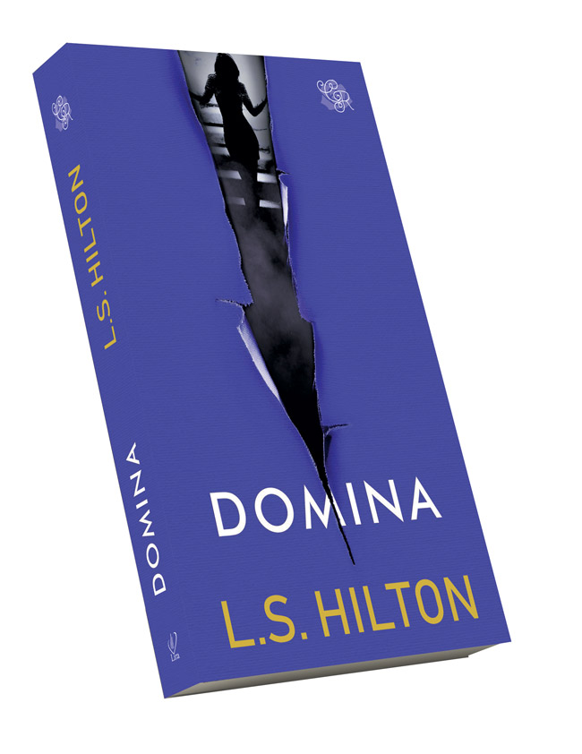 """Domina"" de L.S. Hilton - coperta"