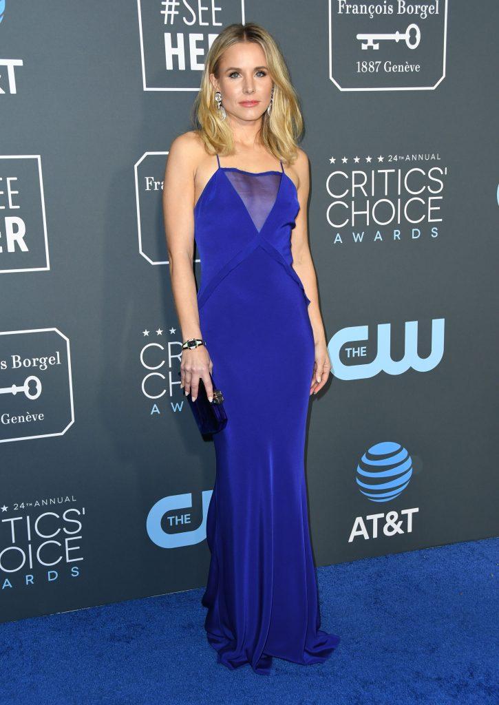 una dintre putinele pete de culoare, actrita Kristen Bell