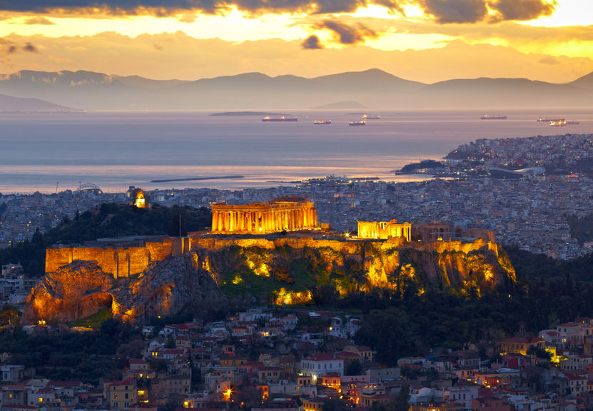 Atena - vedere asupra Partenonului