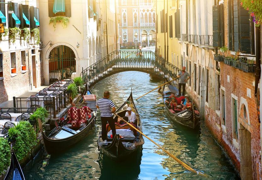 Canal în Veneția