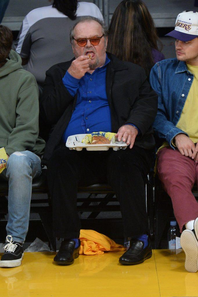 Jack Nicholson pare ca s-a refugiat in mancare