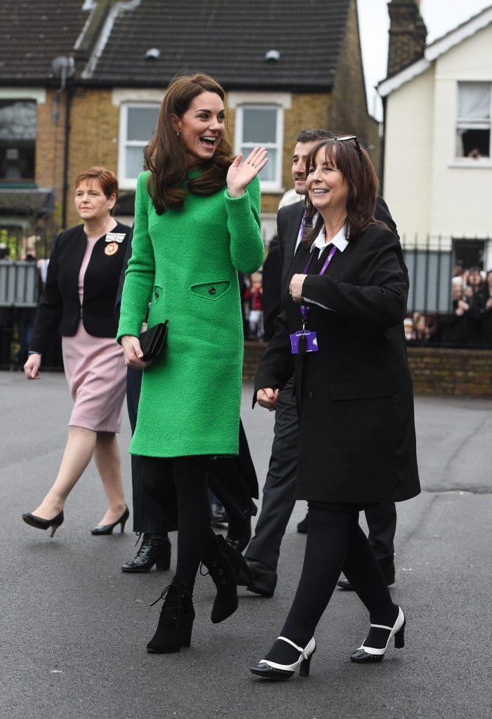 Kate Middleton, aparitie de zilele trecute