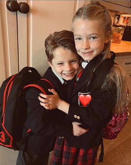 cei doi copii ai actritei