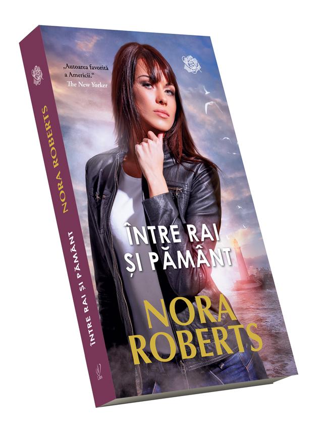 Între rai și pământ de Nora Roberts, coperta