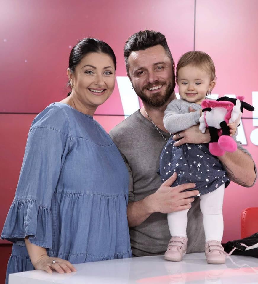 """Tavi Clonda a publicat prima imagine cu cea de-a doua fetiță a lui și a Gabrielei Cristea: """"Prima poza cu noua noastră minune"""