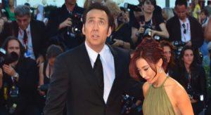 Nicolas Cage si iubita lui
