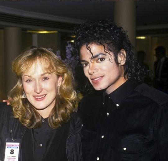 cu ani in urma, alaturi de Michael Jackson