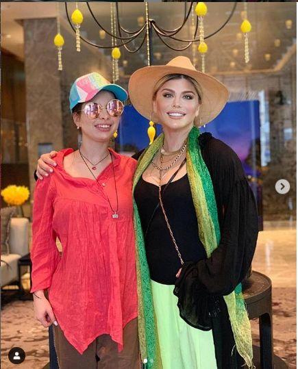 impreuna cu fiica ei, Elena
