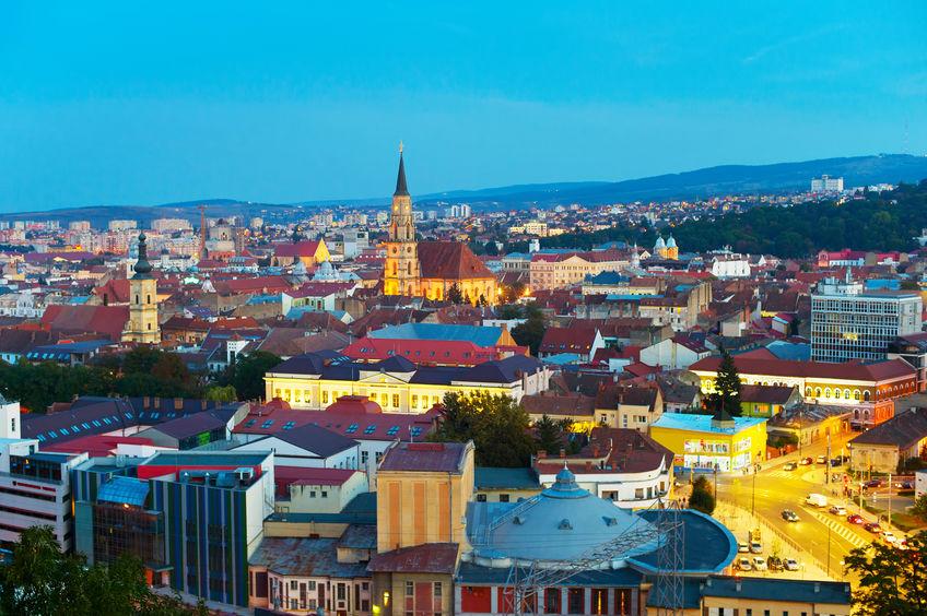 Cluj-Napoca. Vedere de sus