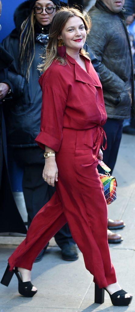 Drew Barrymore in aprilie 2019