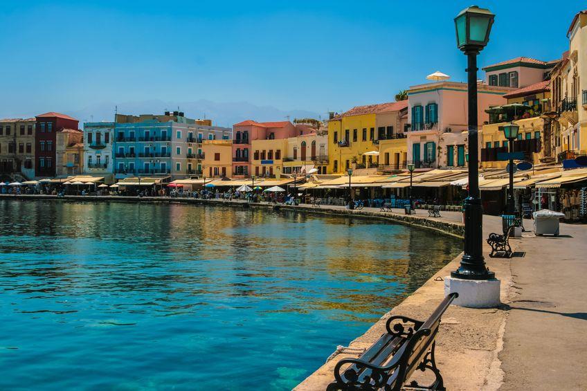 Grecia - orașul Chania din Creta