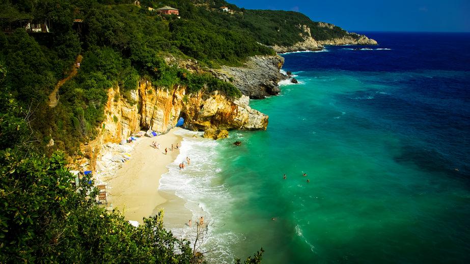 Plaja Mylopotamos, Pelion, Grecia