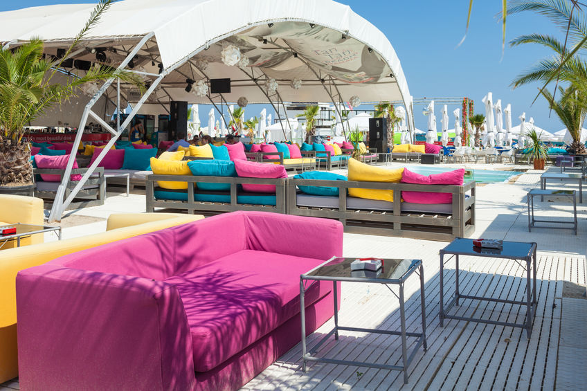 Tan Tan Beach Summer Club din Mamaia