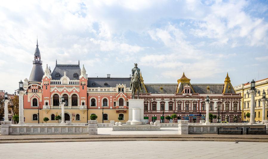 Palatul Episcopal de pe malul Crișului Repede